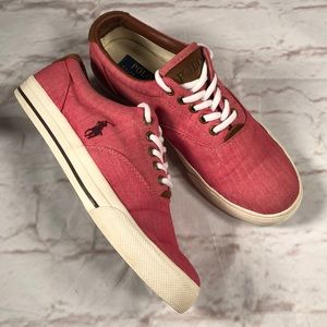 Polo Ralph Lauren sneakers. Size 8.5 HOST PICK ⭐️